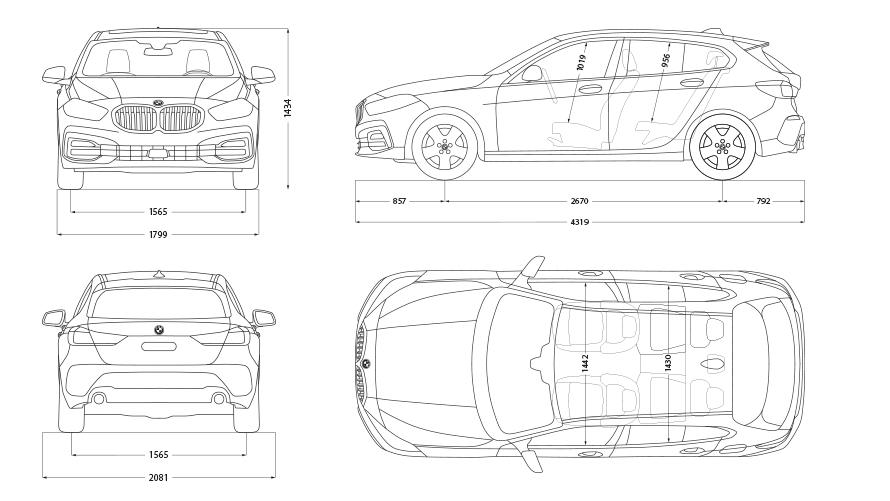 Technische Daten BMW M135i xDrive