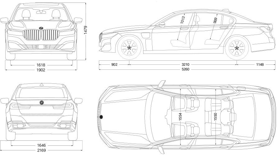 Technische Daten BMW M760Li xDrive Limousine