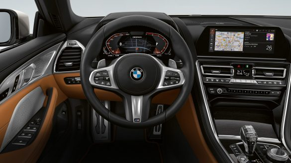 BMW 8er Cabrio M Lederlenkrad mit Schaltwippen