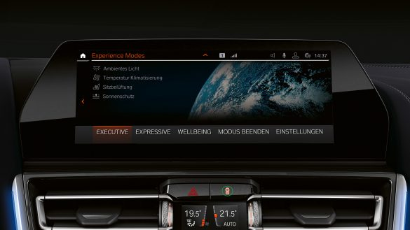 BMW 8er Gran Coupé Experience Modes