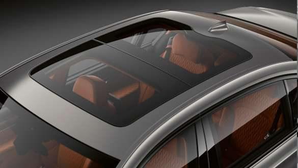BMW 7er Limousine Panoramaglasdach