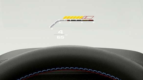 BMW X4 M Automobile F98 LCI 2021 Facelift BMW Head-Up Display