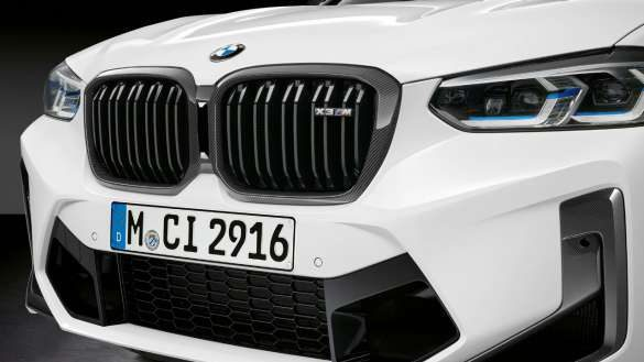 M Performance Frontziergitter BMW X3 M Competition F97 LCI Facelift 2021