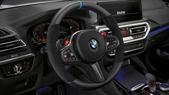 M Performance Lenkrad Pro BMW X3 M Competition F97 LCI Facelift 2021