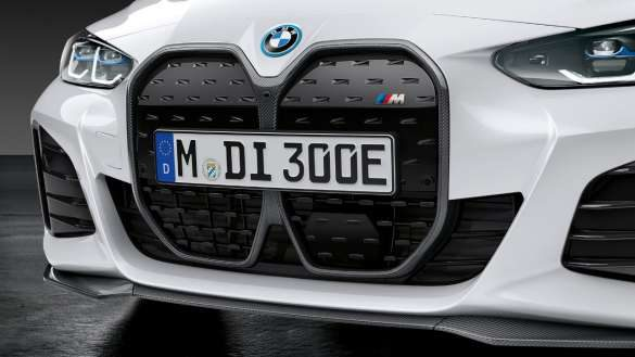 M Performance Frontziergitter Carbon BMW i4 M50 G26 2021