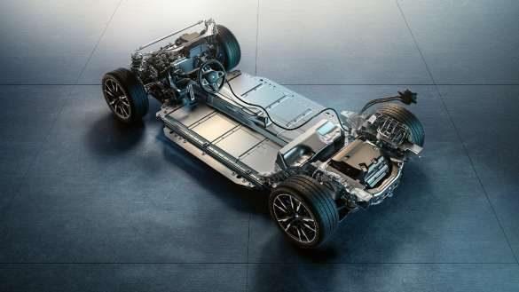 BMW M eDrive BMW i4 M50 G26 2021 Fahrwerk